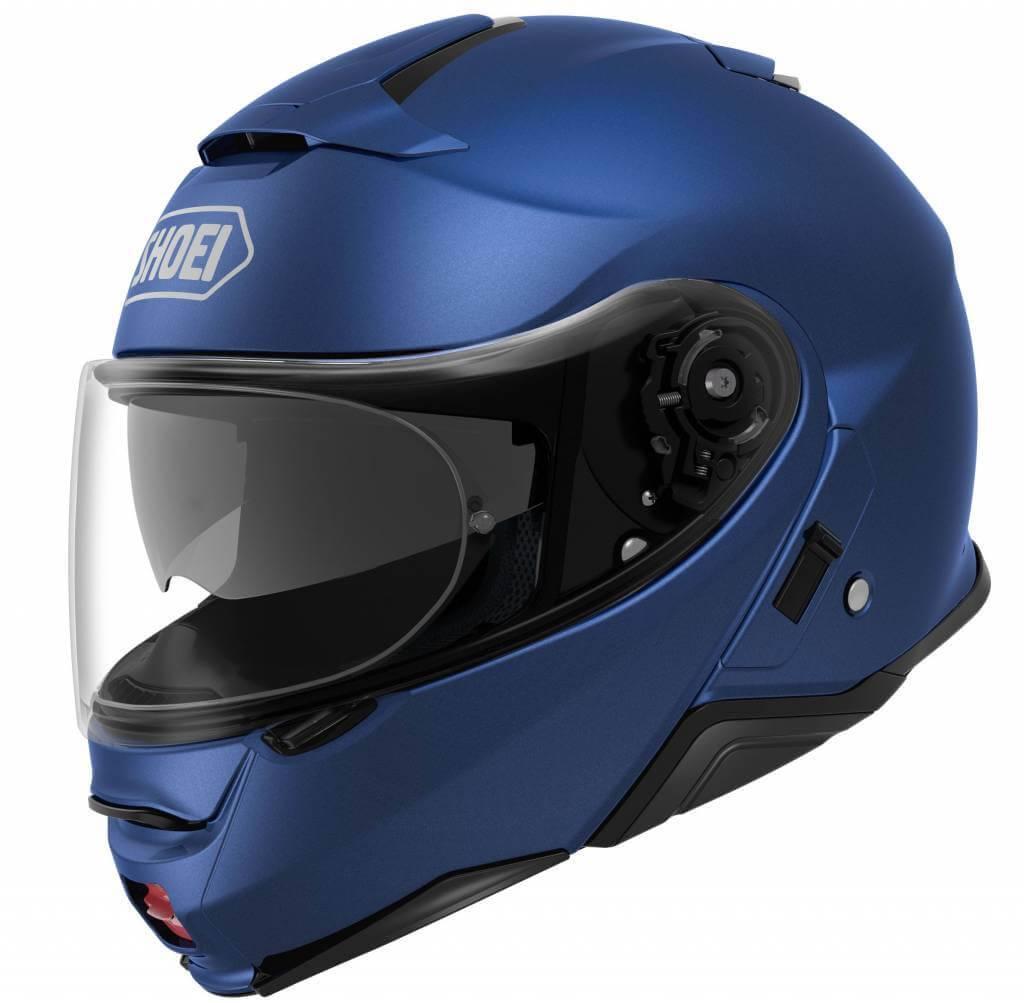 shoei neotec 2 matt blue helmet free shipping champion helmets