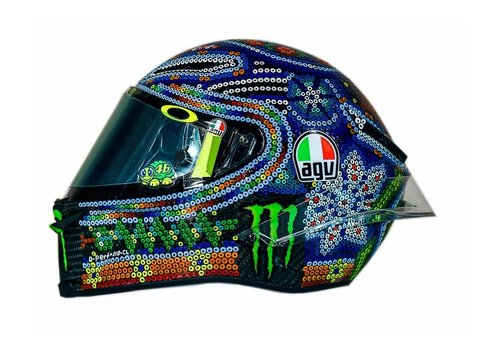 AGV AGV Pista GP R Winter Test 2018 Valentino Rossi Helm - Limited Edition