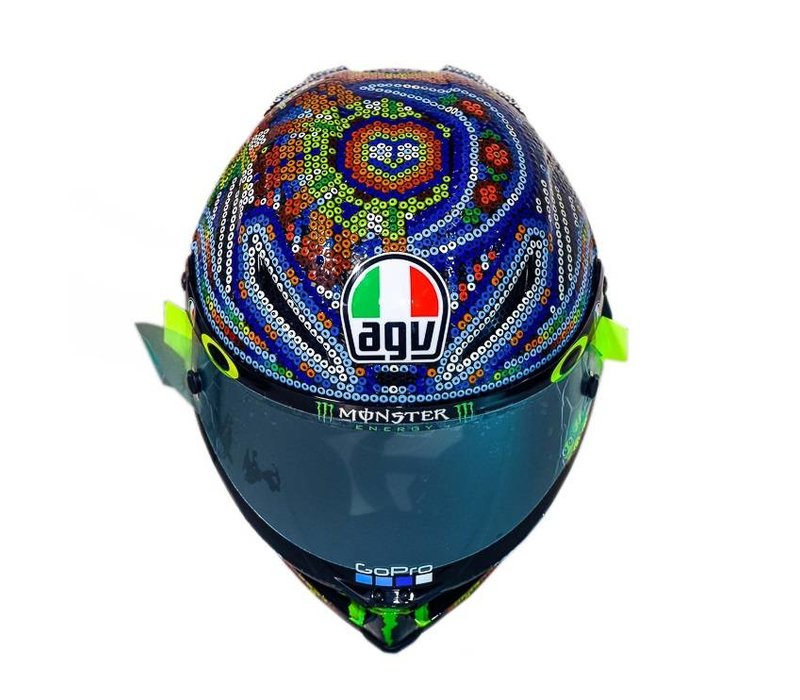 AGV Pista GP R Rossi 20 Years Helm - Limited Edition - Copy