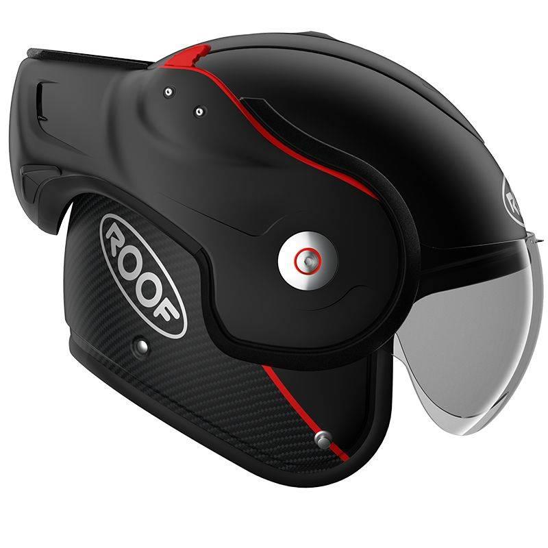 Roof Boxer V8 Matt Black Helmet Champion Helmets