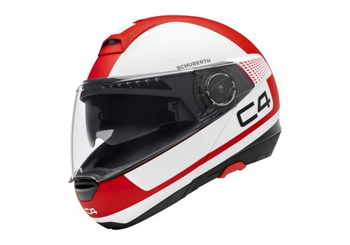 Schuberth C4 Legacy Red White Helmet