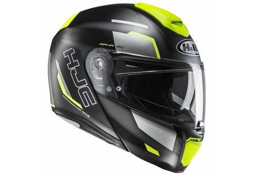 HJC RPHA-90 Rabrigo шлем черный желтый