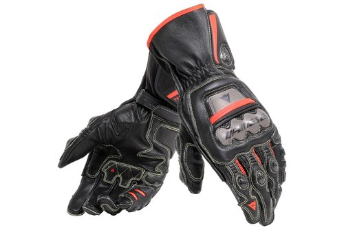 Dainese Full Metal 6 Guantes Negros Rojos