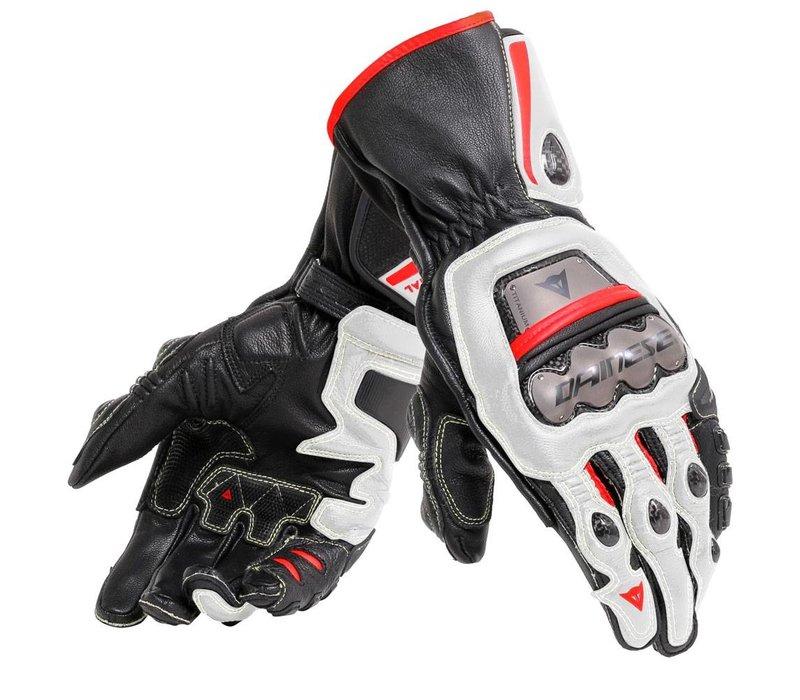 Dainese Full Metal 6 Gloves Black White Red
