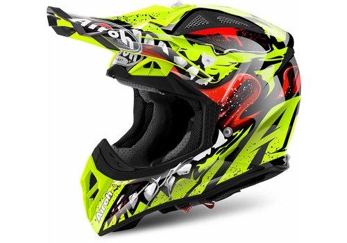 Airoh Online Shop Aviator 2.2 Grim Yellow Gloss Helmet