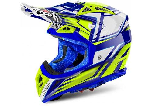 Airoh Online Shop Aviator 2.2 Restyle Yellow Gloss Helmet