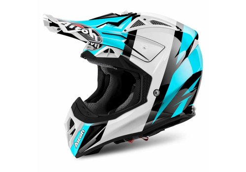 Airoh Online Shop Aviator 2.2 Revolve Azure Gloss Helmet
