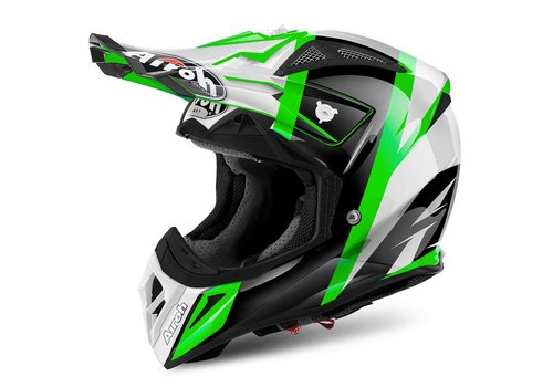 Airoh Aviator 2.2 Revolve Green Gloss Helm