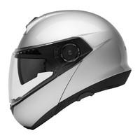 Schuberth C4 Helmet Silver