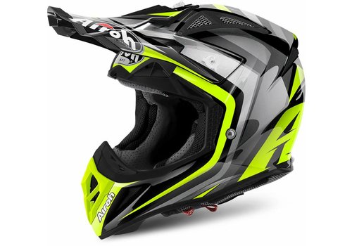 Airoh Aviator 2.2 Warning Yellow Gloss Helmet