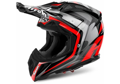 Airoh Online Shop Aviator 2.2 Warning Red Gloss Helmet