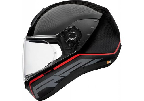 Schuberth R2 Carbon Stroke Red Casco