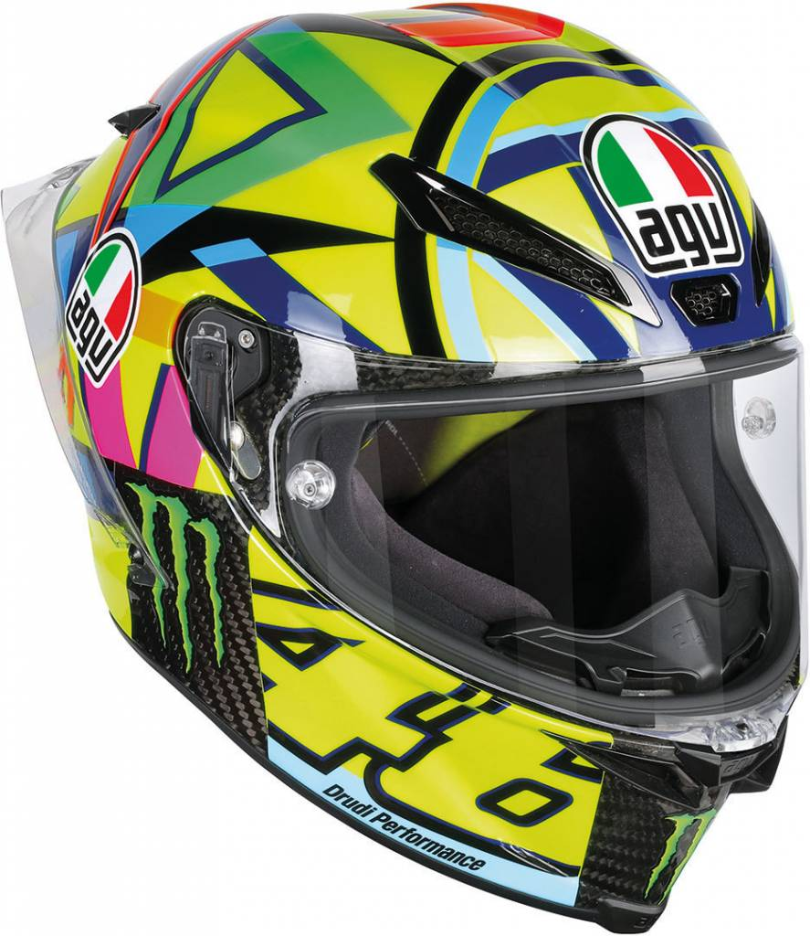 agv pista gp r soleluna 2016 helmet free visor. Black Bedroom Furniture Sets. Home Design Ideas