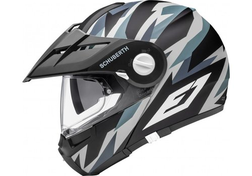 Schuberth E1 Rival Grey Casco