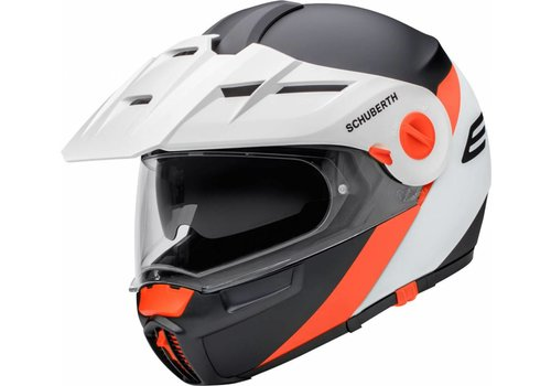 Schuberth Online Shop E1 Gravity Orange Helmet