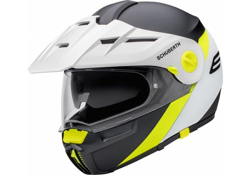 Schuberth E1 Gravity Yellow Casco