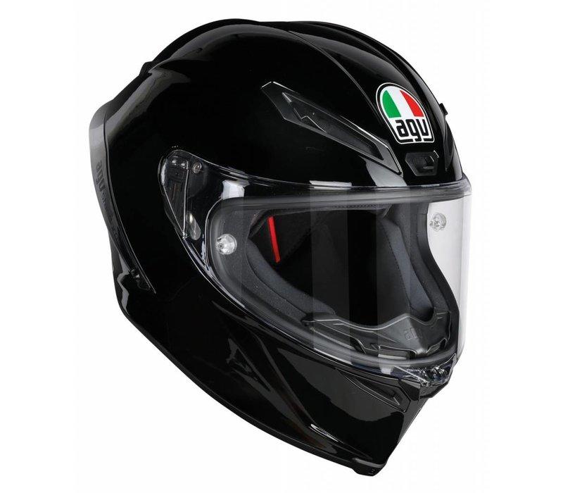 AGV Corsa R Gloss Schwarz Helm + Kostenloser Visier