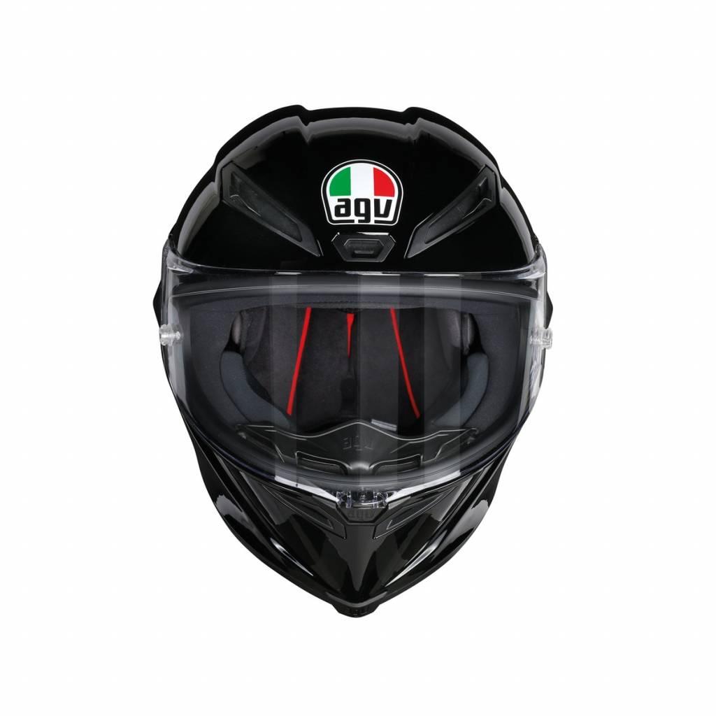 casque agv corsa r noir brillant champion helmets. Black Bedroom Furniture Sets. Home Design Ideas