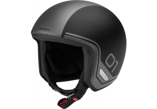 Schuberth O1 Era Black Helm