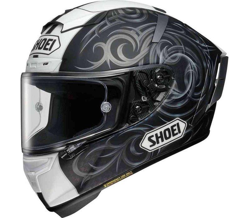 Shoei X-Spirit III Kagayama TC-5 Helmet + Free Extra Visor