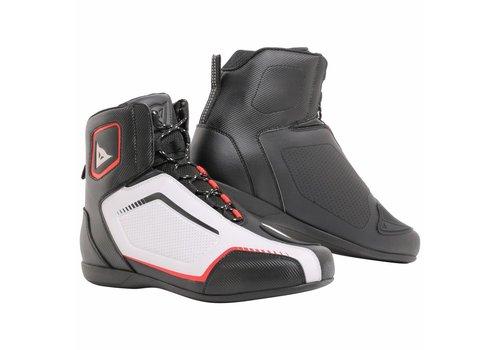 Dainese Online Shop Raptors AIR Schoenen Zwart Wit Rood