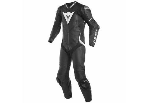 Dainese Online Shop Dainese Laguna Seca 4 Perforated One-Piece Racing Suit Black White