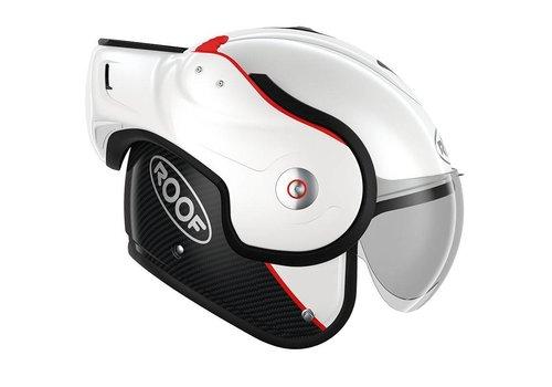 ROOF Boxxer Carbon Шлем Белое