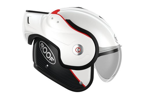 ROOF ROOF Boxxer Carbon Modular Helmet White