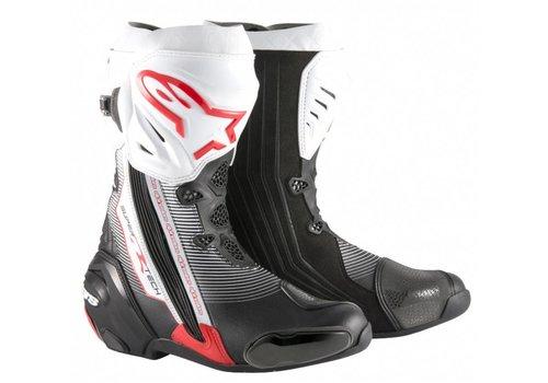 Alpinestars Online Shop Alpinestars SUPERTECH-R Motorcycle Boots Black Red White