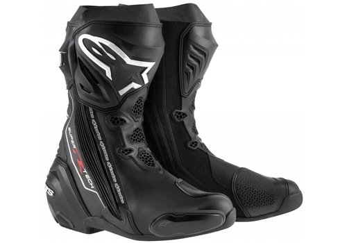 Alpinestars Online Shop Alpinestars SUPERTECH-R Motorcycle Boots Black