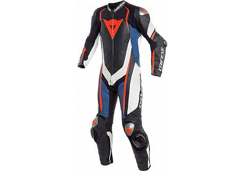 Dainese Online Shop Dainese Kyalami One Piece Racing Suit Black White Blue