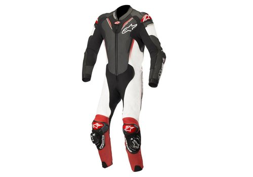 Alpinestars Alpinestars ATEM V3 Leather Suit Black White Red