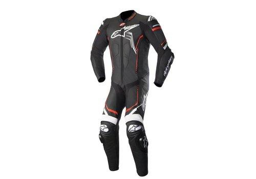 Alpinestars Alpinestars GP Plus V2  1PC Leather Suit Black White Red Fluo