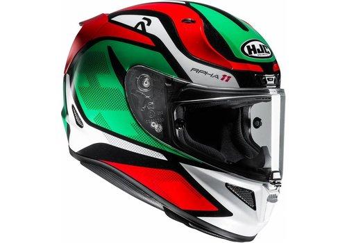 HJC HJC RPHA 11 Deroka шлем Красный зеленый