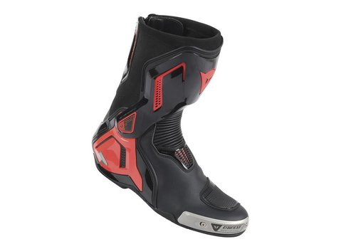 Dainese Dainese Torque D1 Out Stivali Nero Fluo Rosso