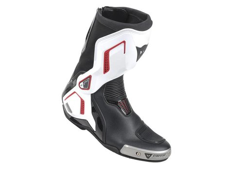 Dainese Dainese Torque D1 Out Bottes Noir Blanc Rouge