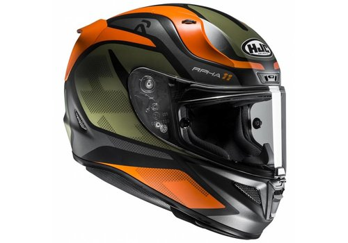 HJC HJC RPHA 11 Deroka шлем Черный зеленый