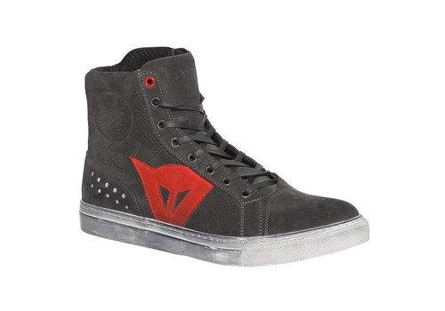 Dainese Dainese Street Biker Air Zapatos Negro Rojo