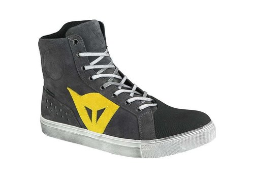Dainese Dainese Street Biker D-WP Shoes Anthracite Yellow