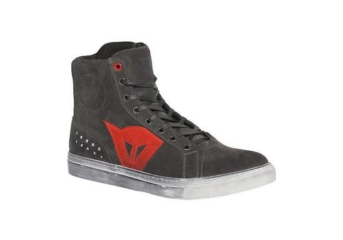 Dainese Dainese Street Biker D-WP Shoes Black Red