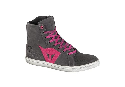 Dainese Dainese Street Biker Lady D-WP Zapatos Negro fucsia