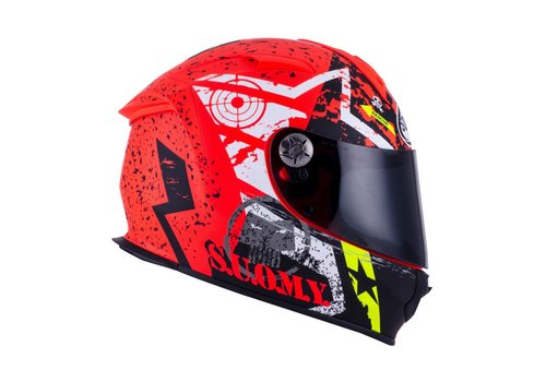 Suomy Suomy SR Sport Stars Orange Helmet