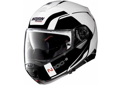 NOLAN Nolan N100-5 Consistency N-Com Zwart Wit Helm