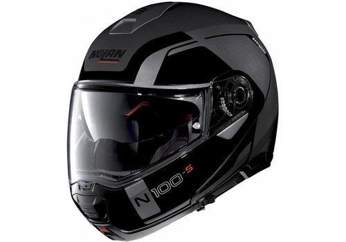 NOLAN Nolan N100-5 Consistency N-Com Zwart Grijs Helm