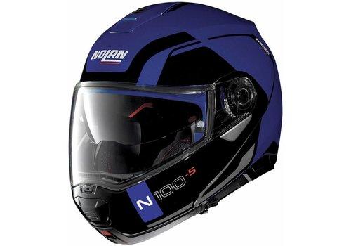 NOLAN Nolan N100-5 Consistency N-Com Zwart Blauw Helm