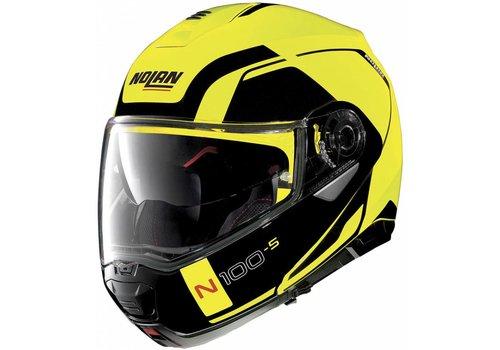 NOLAN Nolan N100-5 Consistency N-Com Schwarz Gelb Helm