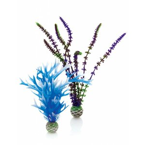 biOrb Easy plants 2x medium blue/purple