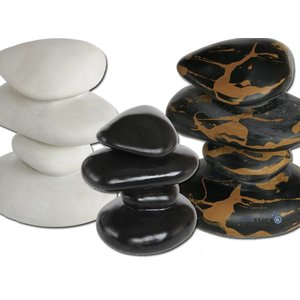 Superfish Zen 4 step pebbles Marmer