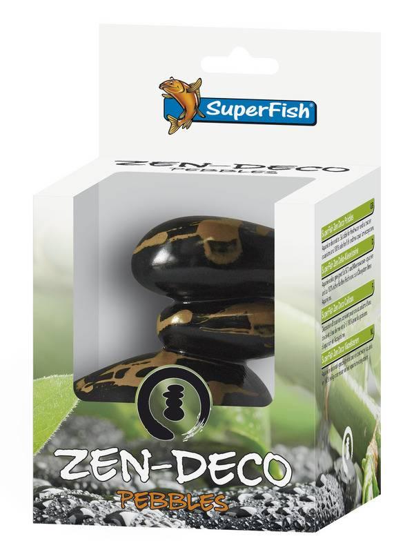 superfish deco zen 4 step pebbles zen aquarium ornament. Black Bedroom Furniture Sets. Home Design Ideas
