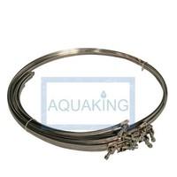 Aquaking Grote slangklem voor luchtkanaal 415 mm